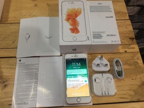 IPHONE 6S ROSEGOLD 64GB FU FULLSET MULUUSS NORMAL MURAAHH 3850 SAJA [MALANG]