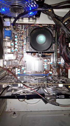 Mobo AMD MSI 760GM-P34 (FX) Procie Athlon X2 270 DDR3 4GB