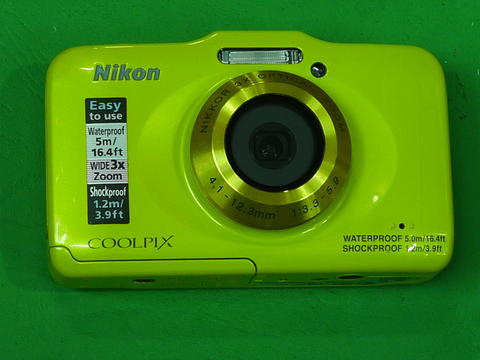 Nikon COOLPIX S31 waterproof, shockproof and dustproof camera digital