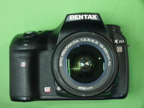 PENTAX K10 Kit 18-55mm SMC DAL DSLR