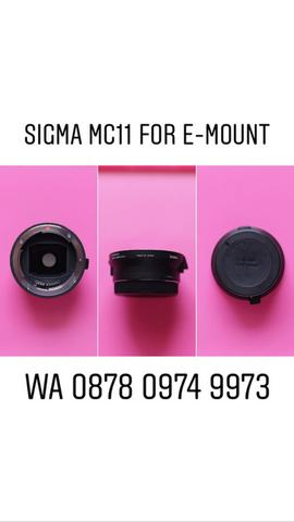 Sigma MC 11 For E Mount