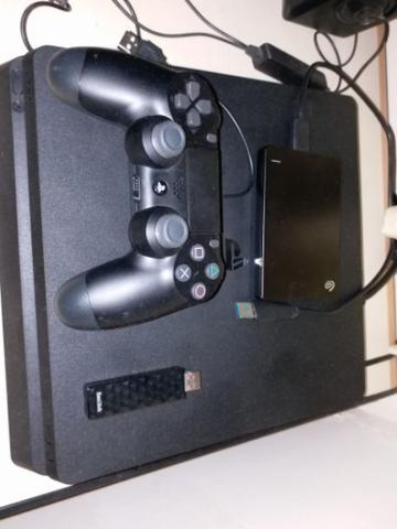 Playstation 4 PS4 SLIM HEN+MIRA 5.05 500GB +HDD 1TB