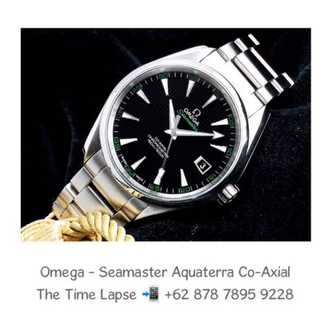 Omega - Seamaster Aquaterra Co-Axial (Golf Green)
