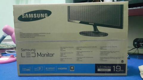 monitor LED samsung 19 in fulset