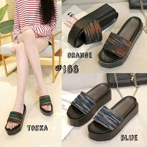 Wedges Slip On Fashion Korea SZD#166