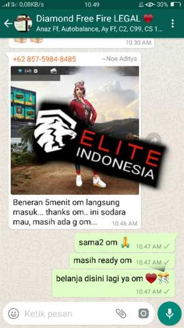 Diamond Free Fire Termurah Paket 1075 Diamond