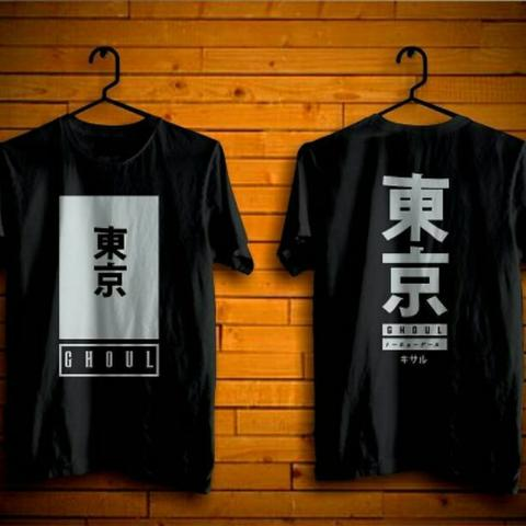 Kaos Anime Tokyo Ghoul Cotton Combed 30s Adem