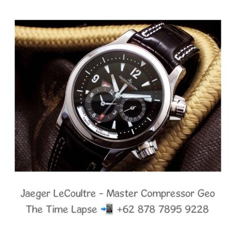 Jaeger LeCoultre - Master Compressor Geographic