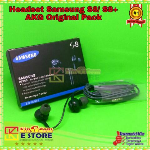 KS027 Headset Samsung S8 S8 Plus Tuned By AKG
