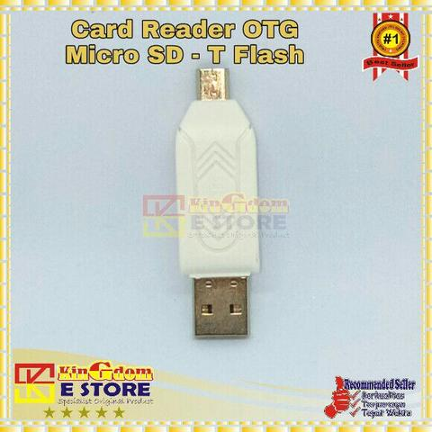 KS 024 Card Reader OTG Micro SD - T Flash Buy 1 Get 3