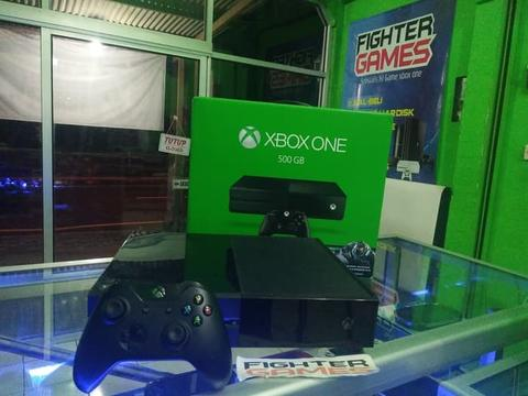 XBOX ONE 500GB plus 12GAME!! Tinggal Play