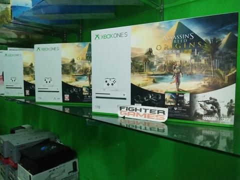 XBOX ONE S 1TB NEW+30GAME!!! Langsung Main