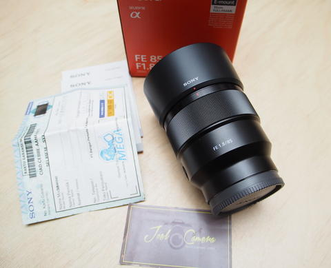 [JOEL] SONY FE 85mm F1.8 LIKE NEW! Muluss @STCsenayan