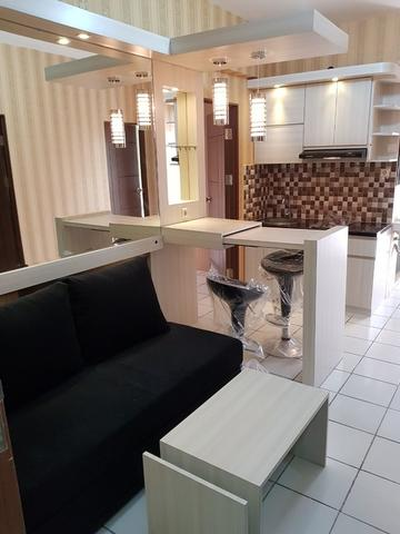 Apt Kemang View Bekasi New Full Furnish Mewah 3 BR(Hook) Best View City & Jalan Raya