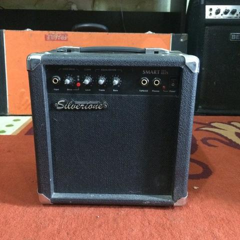 ***BILLY MUSIK*** Ampli Gitar Silvertones Smart IIIs 6.5 Inch 10W with Overdrive
