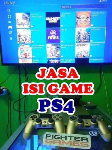 JASA ISI GAME PS4 JOGJA ""