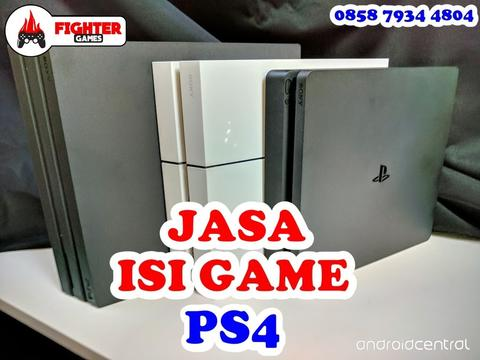 JASA ISI GAME PS4 PERGAME !