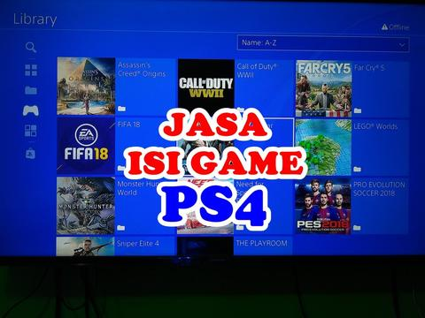 JASA ISI GAME PS4, PES 18 ADA