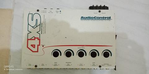 Jual Crossover Audio Control 4xs ,made In Usa