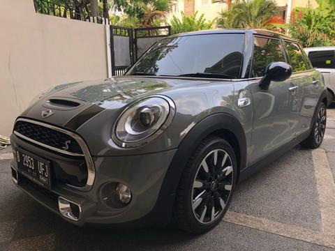 MINI COOPER 2.0 TURBO NARDO GREY ON BROWN 2015/2017