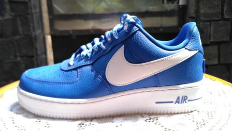NIKE AIR FORCE 1 BIRU LOW NBA PACK