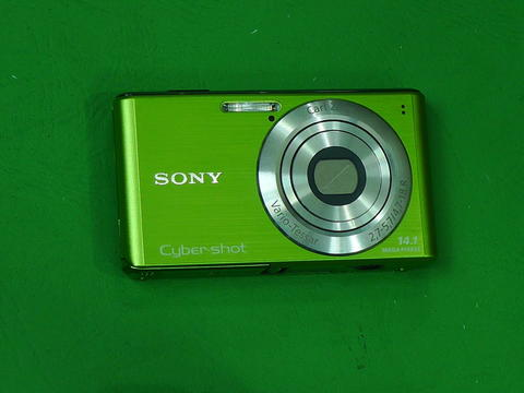Sony Cybershot DSC W530 camera digital koleksi lens Carl Zeiss