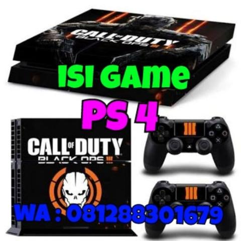 isi game ps 4 bis di tunggu