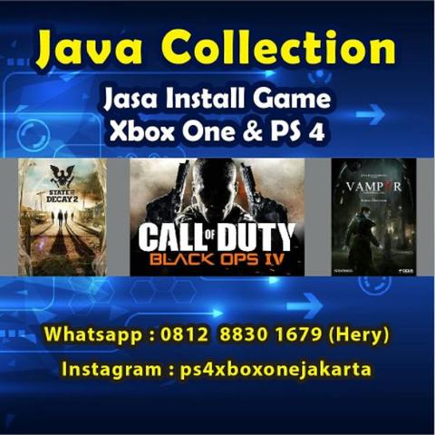 isi game ps 4 dan xbox termurah