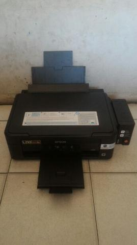 Epson L210 Infus Pabrik All In One Kondisi Normal & Siap Pakai