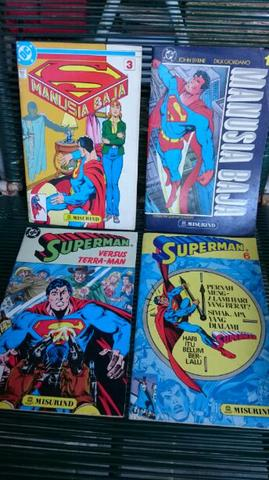 Borongan Comics Superman Tahun 90an