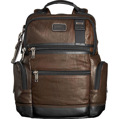 Tumi Alpha Knox Leather Brown Original and Great Condition