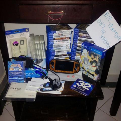 Ps Vita Fat game dan aksesoris