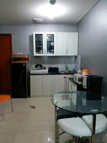 Condominium Green Bay 1BR Full Furnish Tower M Lantai Tinggi View Kota