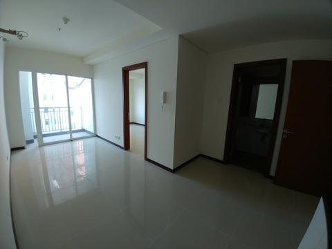 Condominium Green Bay 1BR Kosong 2AC Tower K SeaView 1 Siap Huni