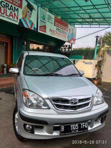 Daihatsu Xenia Type Xi family Plus 1.3 Manual Tahun 2009 WARNA SILVER METALIK