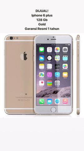 Iphone 6 Pluss 128gb