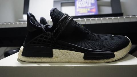 Sepatu Adidas NMD Human Race Pharrell Williams Black PK