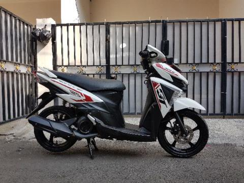 Yamaha Mio Soul GT 2016 putih injection LED