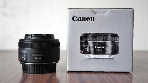 Canon EF 50mm F1.8 Second Like New