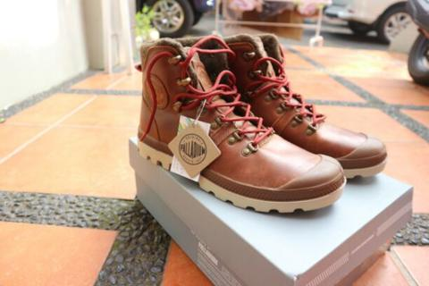 (Sale) Palladium Pallabrouse Hikr Sunrise Sz 42, Ori!! Murah
