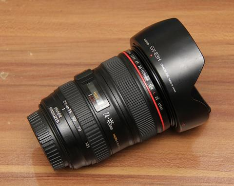 CANON EF 24-105MM F4 L IS USM - MULUS LIKE NEW - KODE UX