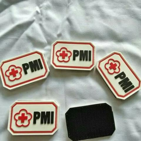 patch rubber palang merah indonesi/pmi