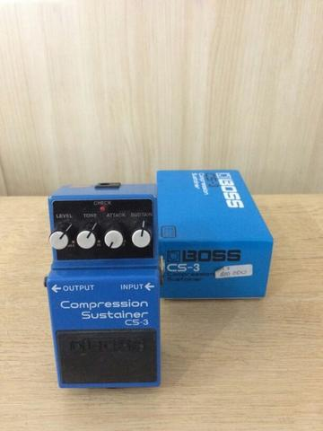 Boss Compression sustainer CS-3 lengkap