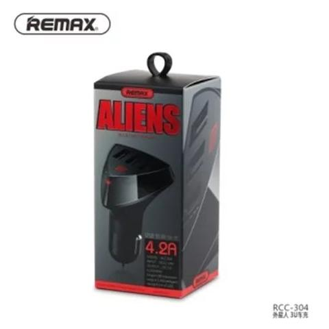 Charger Mobil / Car Charger REMAX ALIENS 3 USB 4.2A Smart Intelligence
