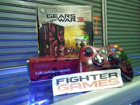 Xbox Slim 320GB Gears of Wars Edition FULLSET READY GOJEK
