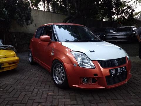 SUZUKI SWIFT GT 2007 RACING SPEC BALAP RALLY DRAG GROUP N M16A BUILT UP FULL ORIGINAL
