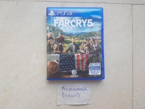 BD ps4 far cry 5 mulus dlc unused