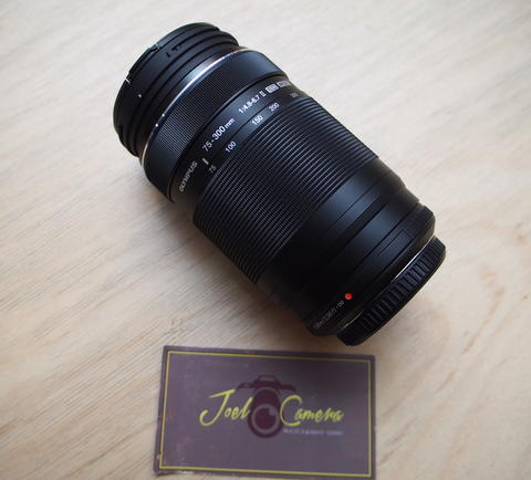 [JOEL] OLYMPUS Mzd 75-300mm f4.8-6.7 LIKE NEW @STCsenayan