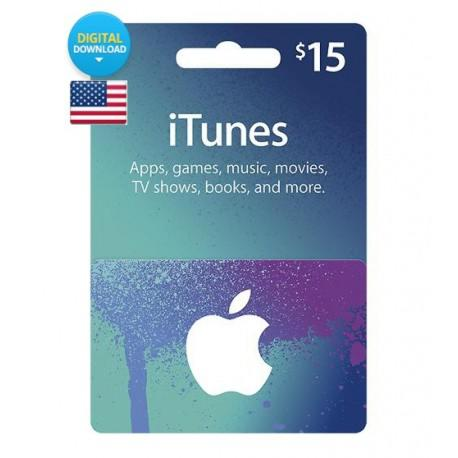 Itunes Gift Card US 30$