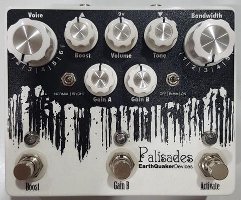 Earthquaker Devices (EQD) - Palisades Mega Overdrive
